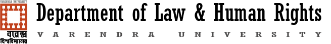 Department of Law & HR, Varendra University