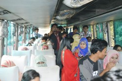 Students Going to Picnic Spot