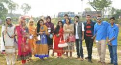 Students at Picnic Spot