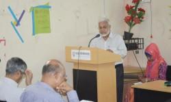 Department Head Prof. Dr. Tariq Saiful Islam Giving His Speech